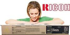 Ricoh GENUINE/ORIGINAL 841664 YELLOW Toner Printer/Copier Cartridge MP C3502S