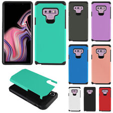 "For Samsung Galaxy Note 9 6.4"" Protector Fusion Hybrid Silicone Case Cover"