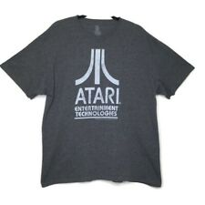 ATARI Mens Short Sleeve Gray Gaming T Shirt Size Extra Large XL