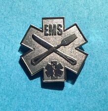 EMS KNIFE AND FORK DEGREE  PIN or CHEF PIN EMS COOK
