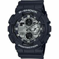 Casio G-Shock GA-140GM-1A1 Analog-Digital Gunmetal Dial Black Strap Men's Watch