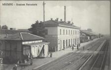 CARTOLINA VIAGGIATA (NEL 1909)_ LEGNANO - STAZIONE FERROVIARIA_SOC. AN. PROVERMO