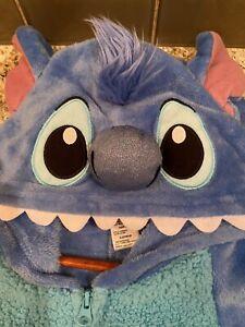 Disney Lilo & Stitch Men's Small Stitch Cos Play One Piece Pajama Union Suit XL