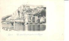 carte postale - Dinant - CPA - Vue prise de la rive gauche de la Meuse