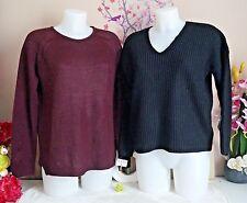 "Lot vêtements occasion femme - Pulls "" Asos - Pull & Bear "" - T : 36 / 38"