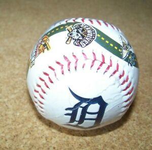 Detroit Tigers Road to the Show baseball ball Mudhens Whitecaps MiLB MLB c38409
