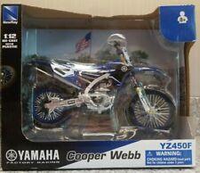 *Brand New* Yamaha Cooper Webb KTM 2011 350SX MX Bike YZ450FZ 1:12 Diecast  2017