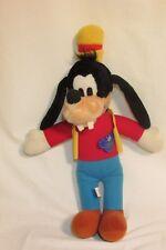 Disney Vintage Old Original Goofy Plush 15'' With Original Plastic Disney Tag.