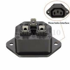 3 Pin UPS Uninterruptible Power Supply Output Socket Plug Connector AC 250V 15A