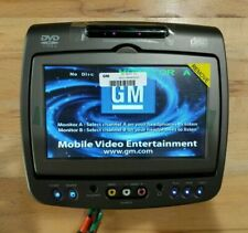 Invision GM DVD Headrest Monitor a Factory OEM Vhmd-0701-ae Cadillac GMC