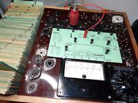 1 Röhre Valvo EH2 8 mA Kriegsmarine Red Tube Valve geprüft auf Funke W19 BL893