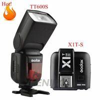 Godox TT600s GN60 2.4G Camera Flash Speedlite +X1T-S Transmitter for Sony MI