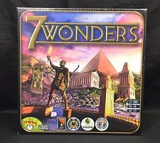 7 Wonders Board Game Repos Production Antoine Bauza New Factory Sealed NIB 2010