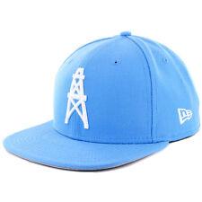 "New Era 950 Houston Oilers ""NFL Historic Baycik"" Snapback Hat (Light Blue) Cap"