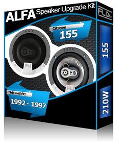 Alfa Romeo 155 Portiera Anteriore Altoparlanti FLI Audio Auto Kit 210W