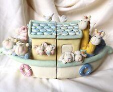 Noah's Ark Baby Book Ends