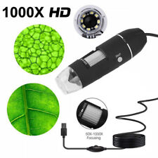 Mini 1000X USB Digital 8 LEDs Mikroskop Lupe Fach Endoskop HD Microscope Kamera