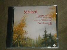 Paul Berkowitz Schubert Sonatas Vol. VII Reliquie Fantasie in C Wanderer