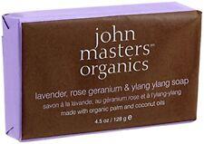 john masters organics Lavender, Rose Geranium  Ylang Ylang Soap 128 g