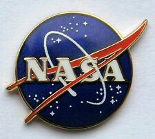NASA Vector Logo Pin Official NASA Space Program Edition