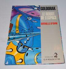 GOLDORAK: Le Robot de l'Espace Bataille d'OVNI ROUGE et OR BOOK Mazinger Z 1978