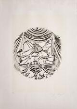 Salvador Dalì, Recitazione, litografia, 70x50 cm, firmata e numerata, autentica