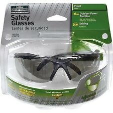 MSA 10087603 Safety Glasses, with Temple Adjustment, Smoke Color, Adjustable