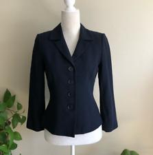 LK Bennett • Solid Navy Blue Blazer Jacket Size 4