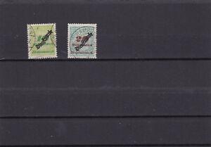 2 x Dt.Reich , Dienst , 1923 , Infla , Mi.Nr. 86 + 87 , gestempelt
