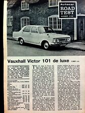 VAUXHALL VICTOR 101 de Luxe -1967 - Road Test removed from The AUTOCAR