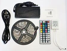 RGB 3M 10F Waterproof Outdoor LED Light Strip SMD 5050 + 44 Key Remote + 12V 3A