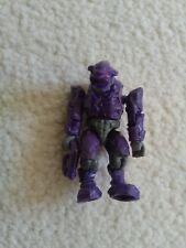 Halo mega bloks series 1:  purple covenant elite (rare) with weapon