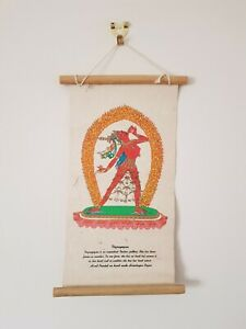 Buddhist and Tantric Wall Hangings. Hand-printed on Lokta Paper in Nepal.