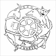 PJ Harvey Etched 45RPM Music Records