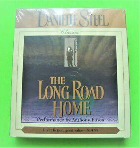 NEW 1998 Danielle Steel LONG ROAD HOME Classic Novel 5 CD's Sealed MINT IN BOX
