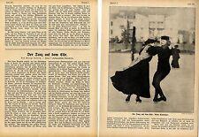 Eistanz Eiswalzer Schlittschuhlaufen  ( mit ) 7 historischen Aufnahmen von 1910