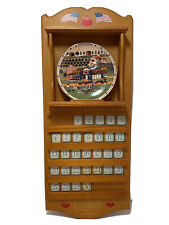 """Charles Wysocki   """"Days To Remember""""   Calendar Plates & Number/ Holiday Tiles"""