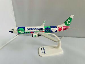 Transavia Peter Pan Boeing 737-800 // 1:200 inkl. Standfuß NEU OVP TC-JFU / PPC