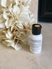 New PHILOSOPHY THE MICRODELIVERY EXFOLIATING FACIAL WASH 1oz / 30 ml  Travel Sz