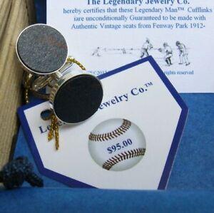 Baseball cufflinks + FENWAY PARK Cuff links ~ Red Sox Gifts for Men