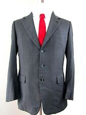 "BRIONI Roma Men's Sport Coat Blazer 40R 100% Wool ""Traiano"" Italy 3Btn Gray"