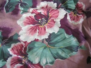 3 Vintage 1940's Cloth Cushion Chair Couch Pillow FLORAL SLIPCOVERS  L@@K