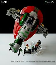 Display stand angled for Lego 75243-8097 Slave I - (A1059)
