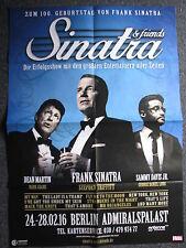 Konzertposter-Frank Sinatra & Friends-24.02.- 28.02.2016 Berlin-Konzertplakat