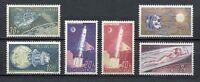 37098) CZECHOSLOVAKIA 1961 MNH** Space, Sputnik 6v
