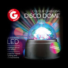 LED Disco Dome - Rotating Party Mood Lighting Battery Powered Magic Ball Light