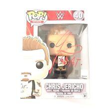 Chris Jericho Signed Autographed Funko Pop PSA/DNA COA Goat Inscription Rare