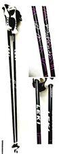 "Leki Balance Alpine Ski Poles 105 cm 42"" Womens Trigger S Grip Black"