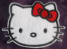 HELLO KITTY EMBROIDRED PATCH SEW OR IRON ON BRAND NEW DIY