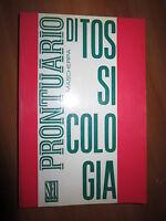 P. MASCHERPA, PRONTUARIO DI TOSSICOLOGIA, SEU, ROMA, 1975, A9